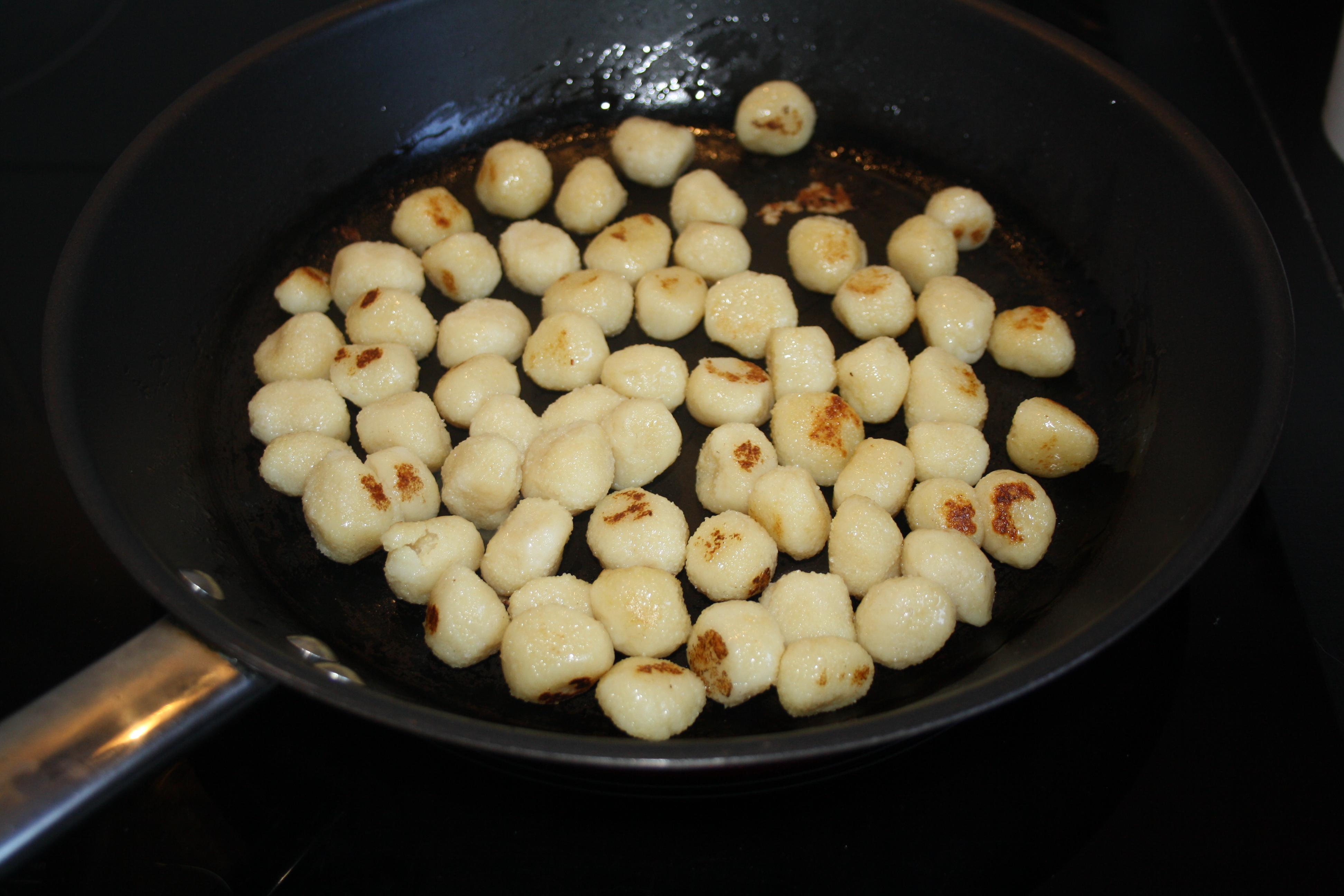 gnocchi poêlé