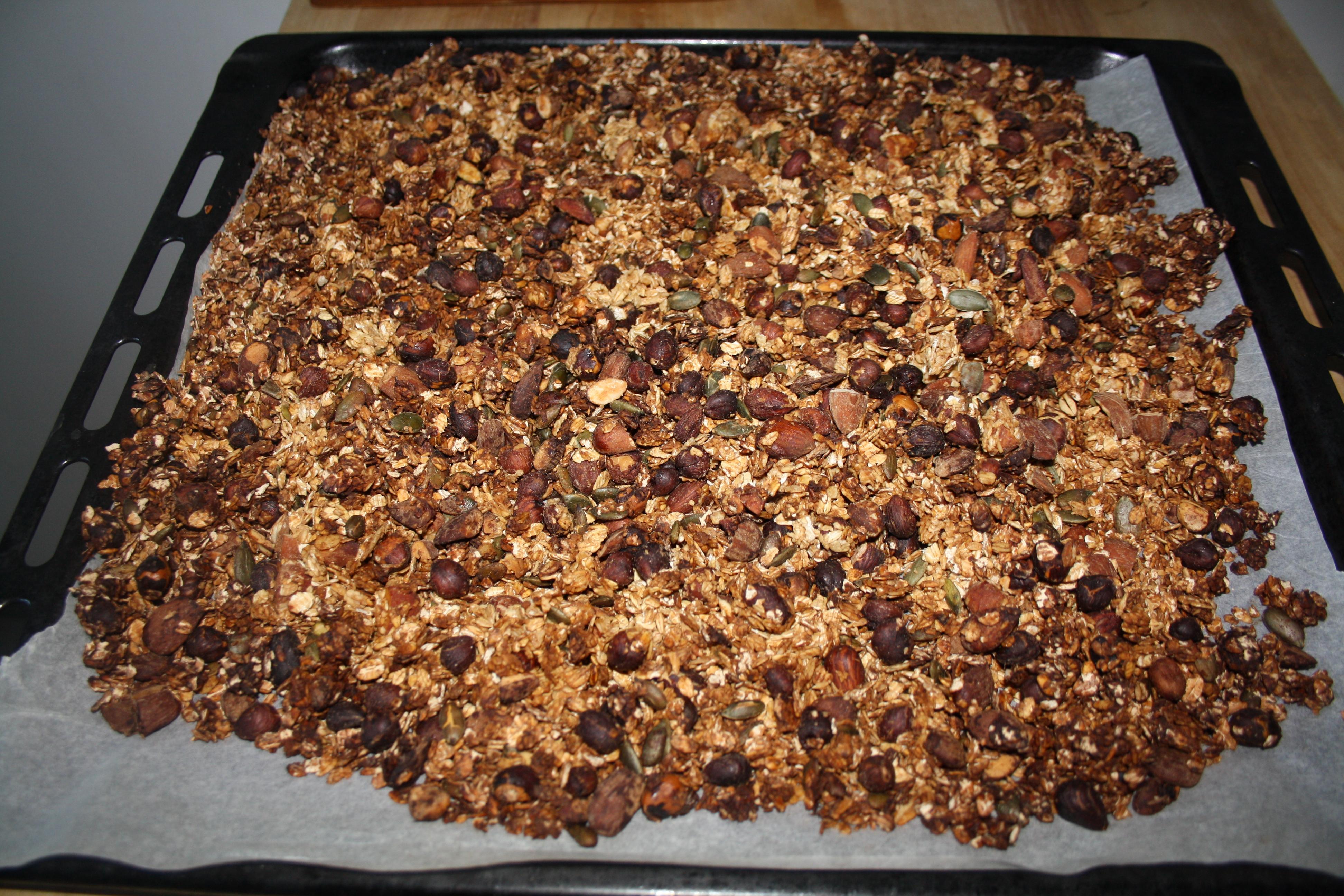 cuire granola