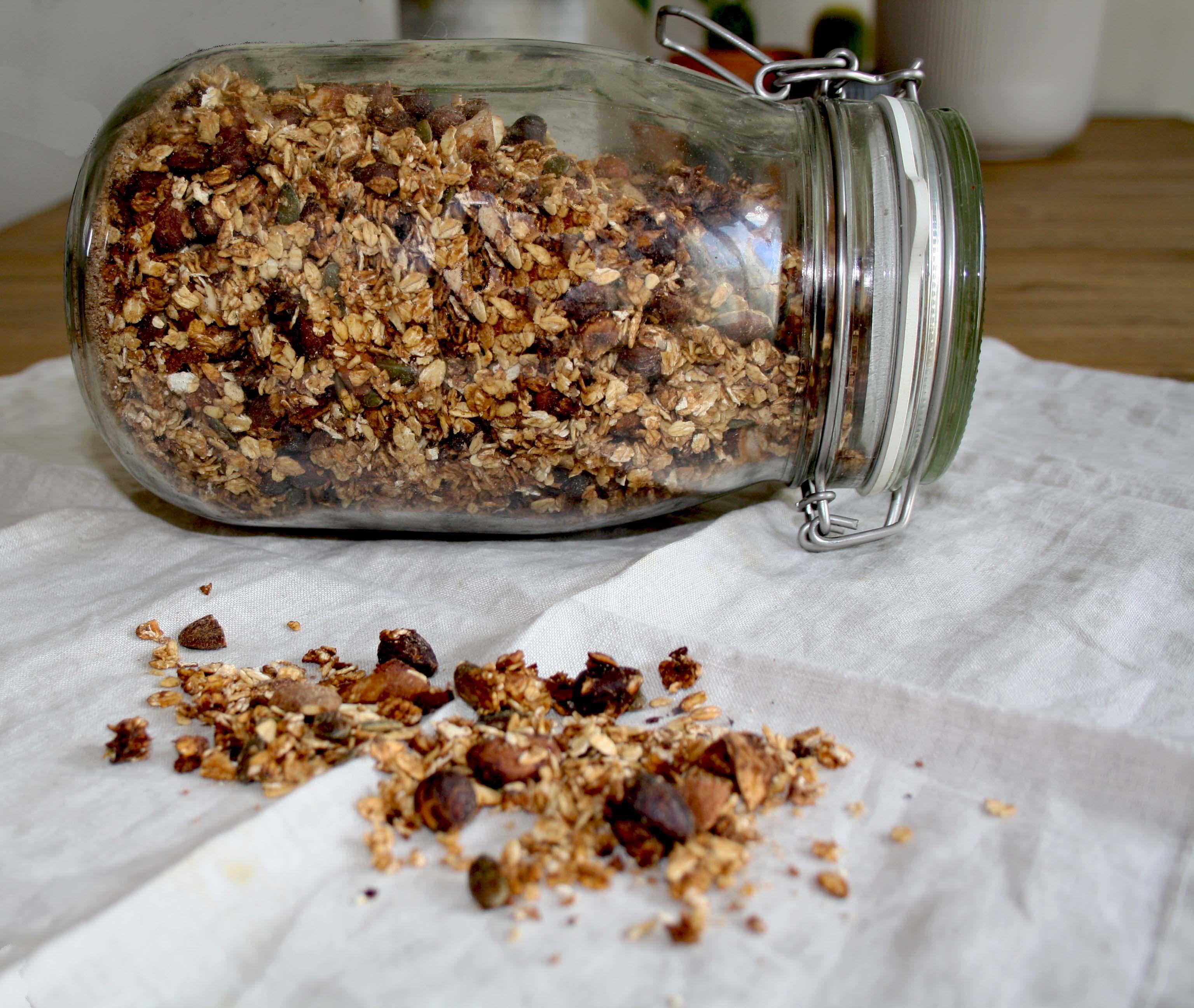 faire du granola