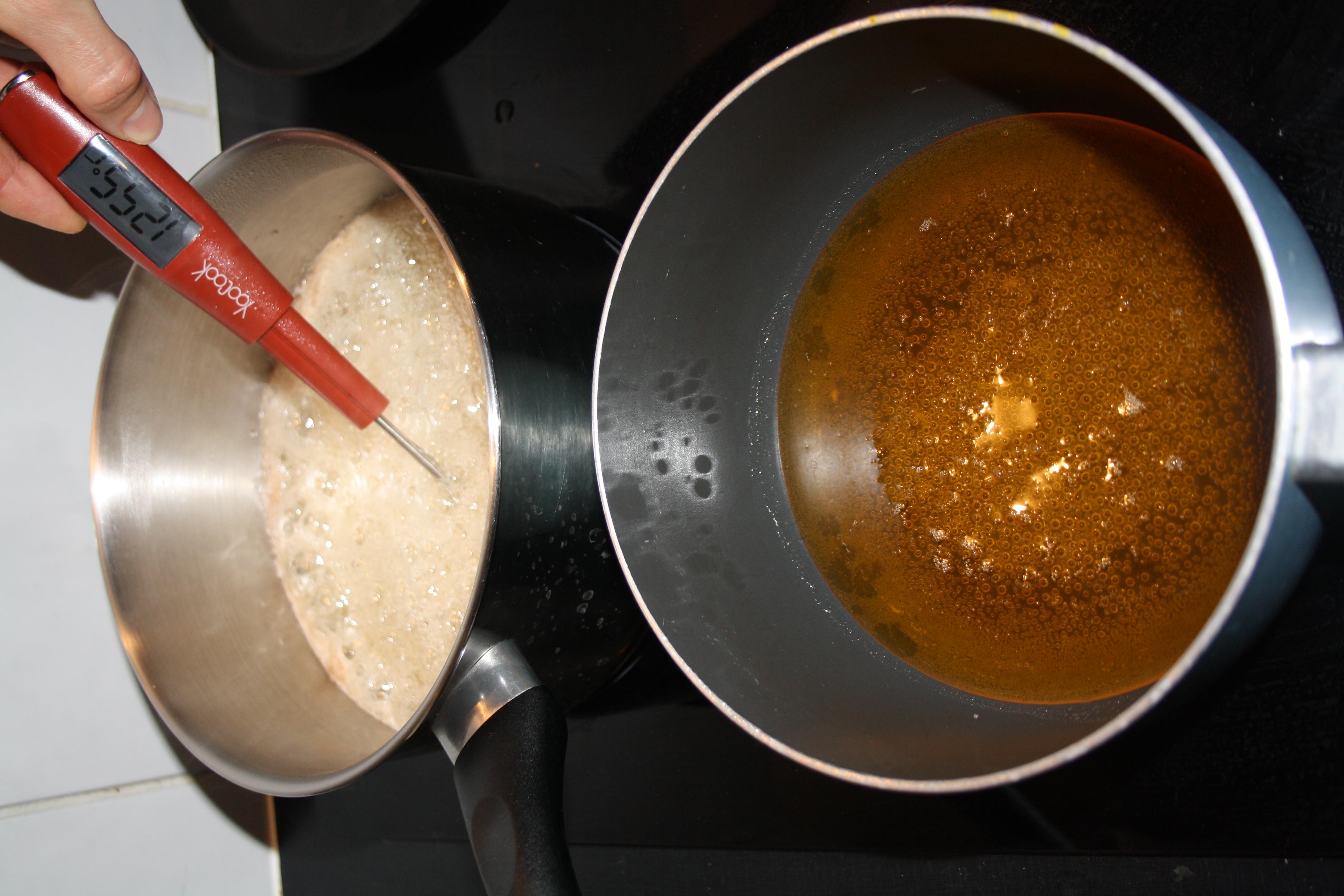 casseroles chaudes