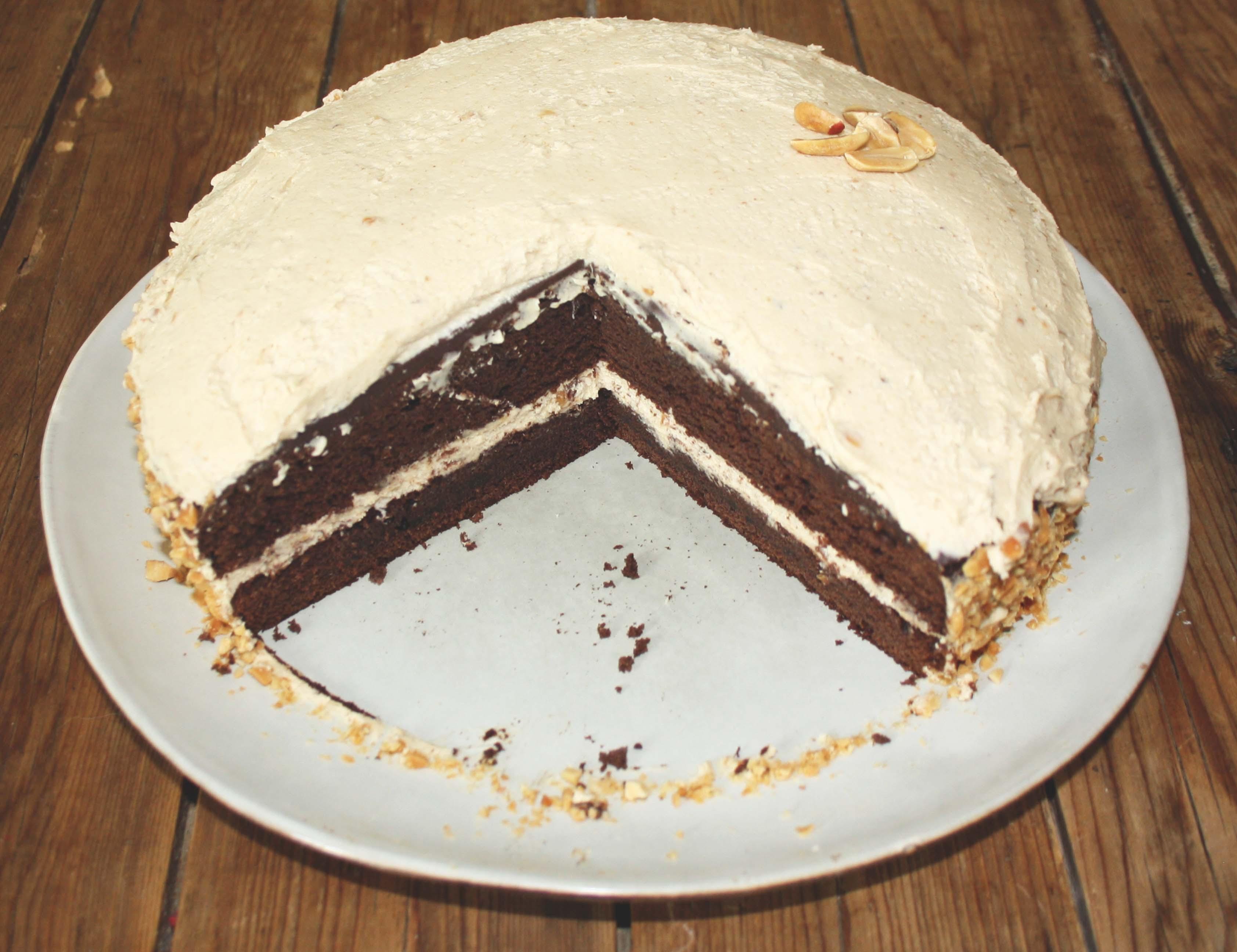 layer cake peanut butter