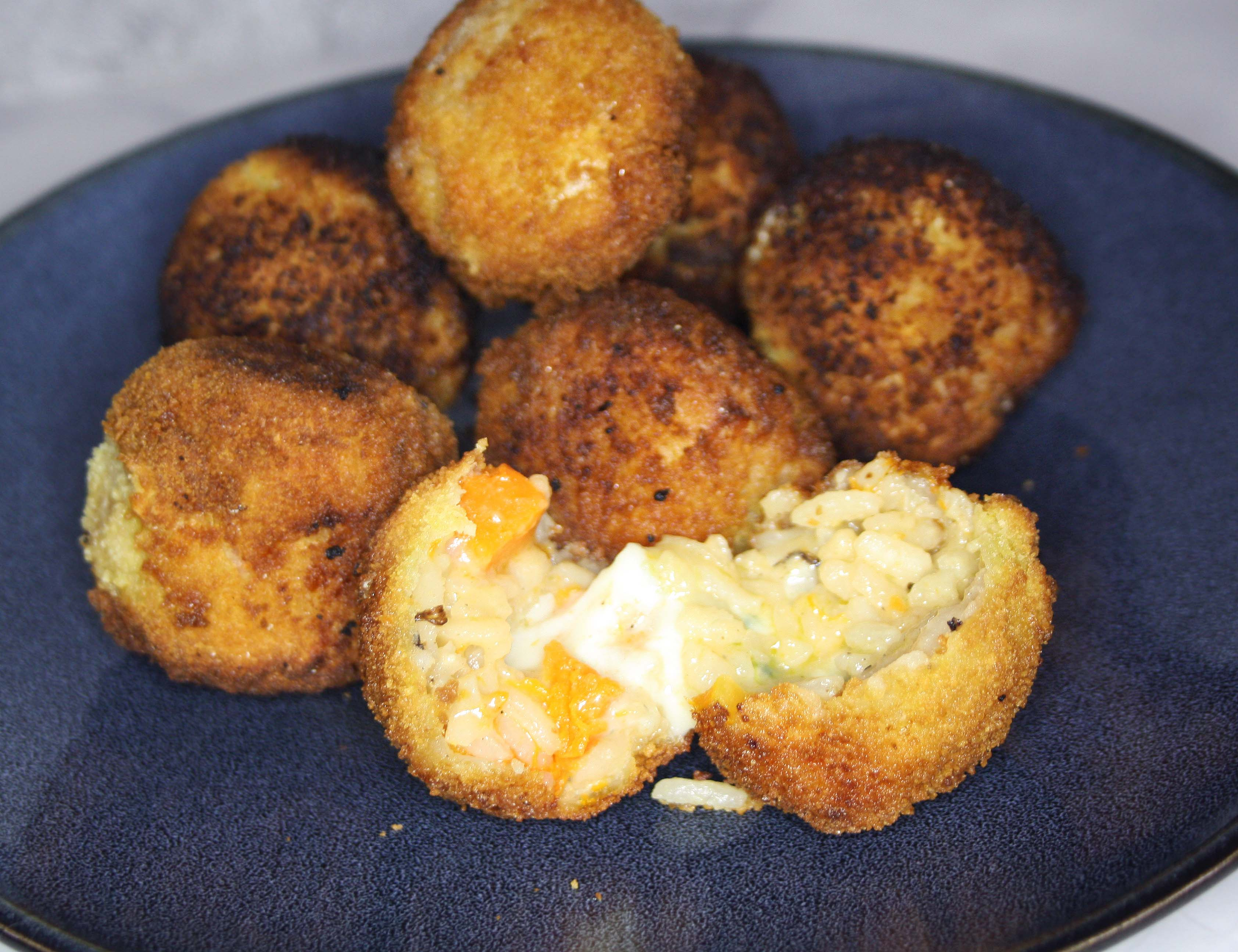 Arancini roquefort butternut