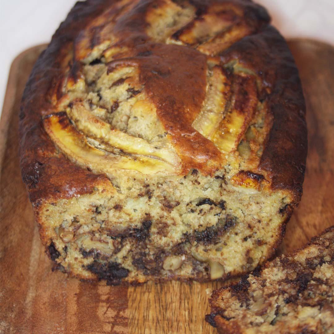 banana bread choco-noix